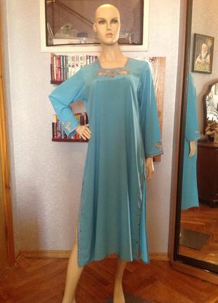 Домашнее платье в этно стиле р. 54-56