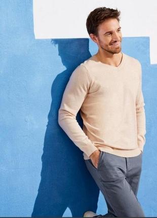 Красивый мужской джемпер пуловер свитер livergy