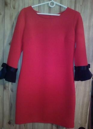 Супер платье красное
