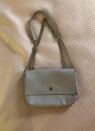 Кожанная сумочка ручной работы