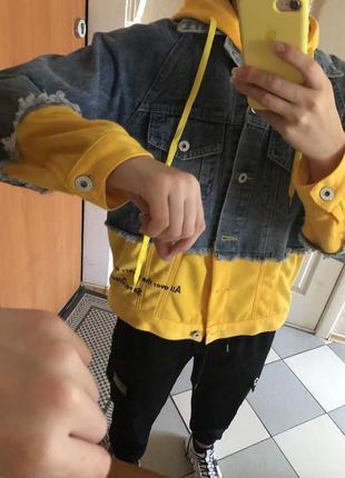 Джинсовая курточка, ддинсовка