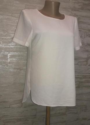 Блузка белая размер 12
