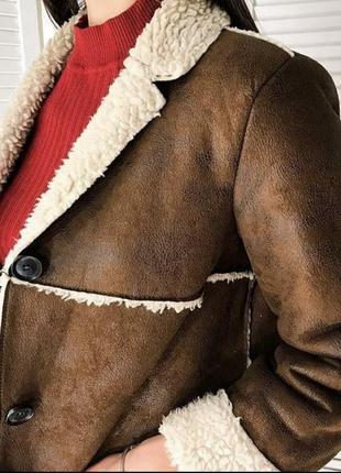 Дубленка пальто куртка