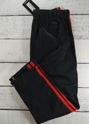 Штаны спортивные черные брюки с лампасами5 фото