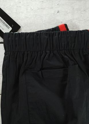 Штаны спортивные черные брюки с лампасами7 фото