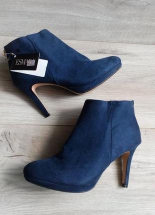 Ботильоны ботинки esmara