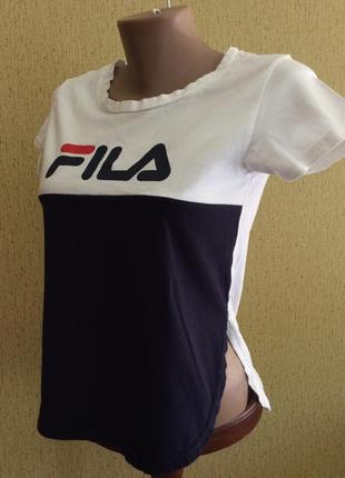 Топ футболка fila оригинал размер xs,s