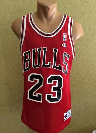 Баскетбольная майка chempion bulls jordan оригинал размер s