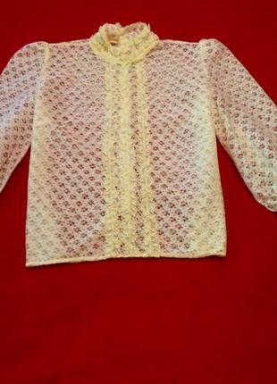 Блузка винтаж в стиле 17-20х годов.