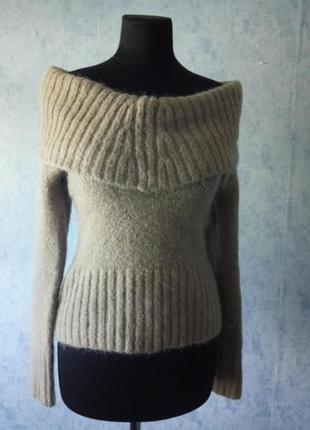 Новый свитер с открытыми плечами размер uk 10 -12 -14