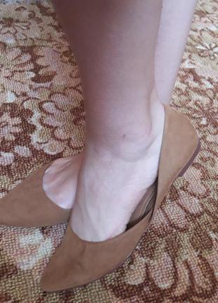 Балетки тапки туфли на низком ходу