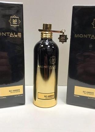 Montale so amber eau de parfum 100ml тестер