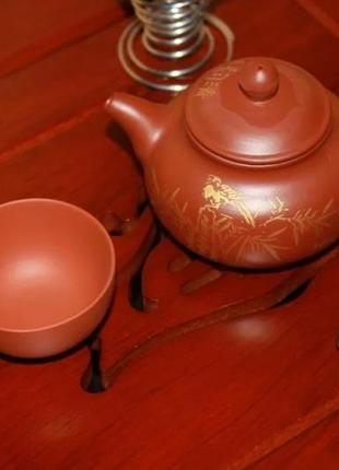 Чайная пиала глина 25 мл.