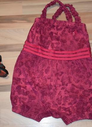 Ромпер комбез песочник adidas 12-18 мес