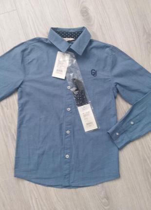 Классическая рубашка 8-10 лет
