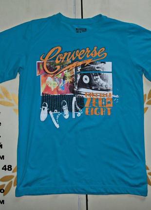 Converse футболка размер xl юниорский
