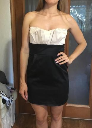 Вечернее  платье-бюстье брендовое