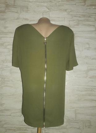 Блузка на молнии размер 12