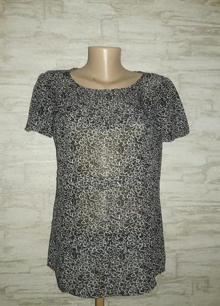 Блузка в сердечки размер 12
