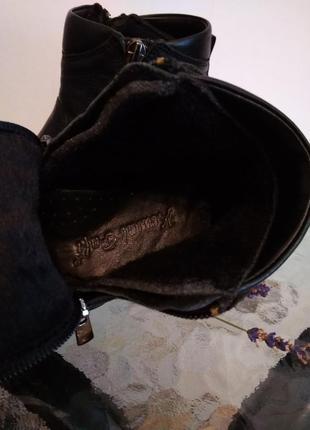 Кожаные стильные ботинки кемаль рафи6 фото