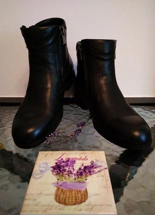 Кожаные стильные ботинки кемаль рафи8 фото