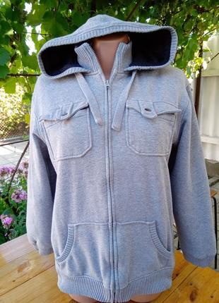Толстовка-куртка очень теплая р.м