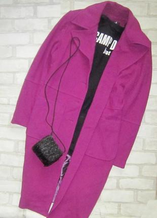 Летняя цена! шикарное пальто миди, трендового цвета осени 2019