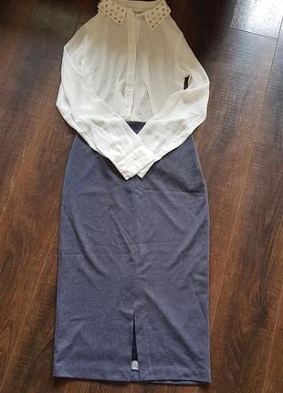Продам комплект юбка zara и две блузки