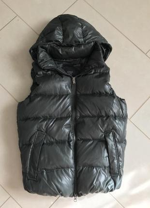 Жилетка пуховая зимняя дорогой бренд bomboogie размер м