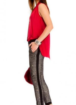Женские брюки pronto moda (италия) размер s-m