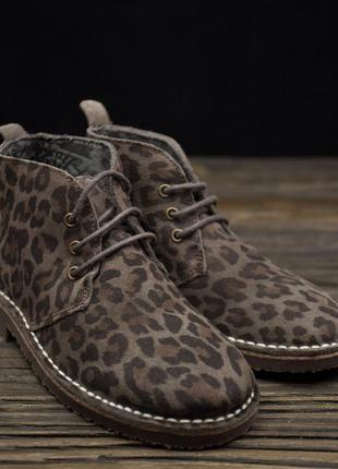 Стильные замшевые ботинки от san marina р-31
