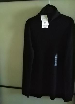 Uniqlo базовый черный гольф