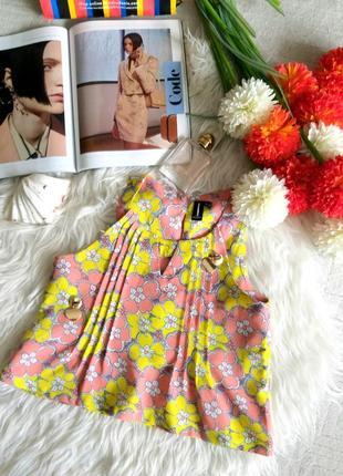 🔥🔥🔥распродажа🔥🔥🔥цветочная летняя блуза от бренда isabel london m/38