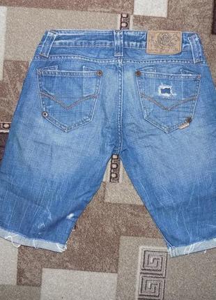 Стильные джинсовые шорты river island, модные рванки2 фото