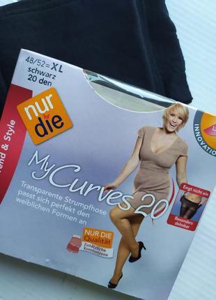 "Колготки ""my curves"" 20 ден от nur die германия р.xl"