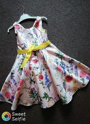 Нарядное платье для девочки monsoon