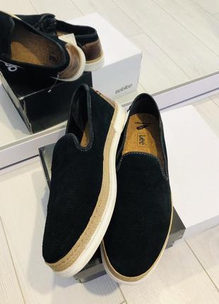 Lee кожаные туфли