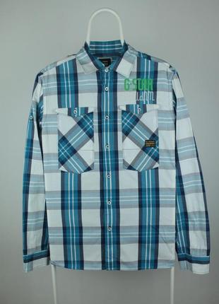 Крутая оригинальная рубашка g-star raw athan menora shirt