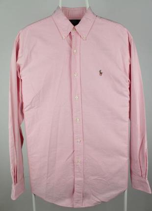 Шикарная оригинальная рубашка ralph lauren cotton oxford yarmouth