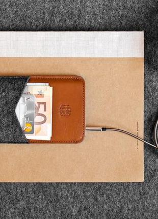 Чехол handwers для iphone // parry x коричневый с тёмным