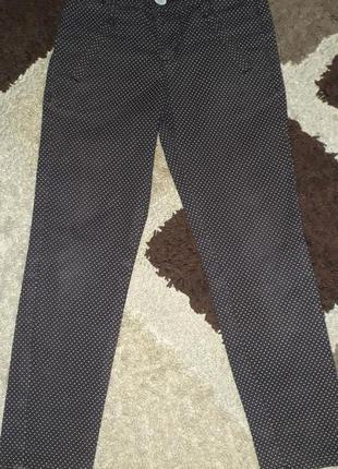 Котоновые брюки для школы geejay