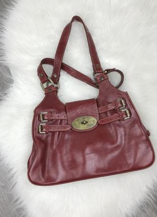 Кожаная сумка mulberry