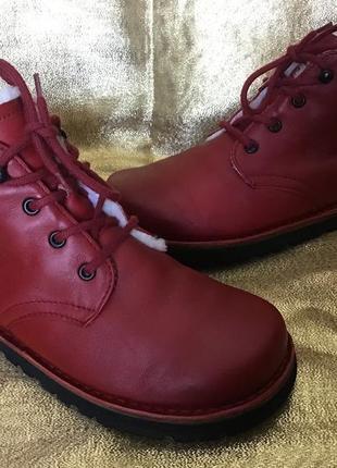 Ботинки кожаные waldviertler 39 размер