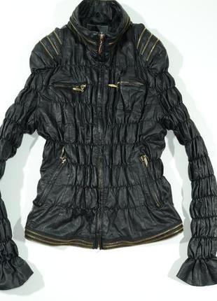 Женская куртка из искусственной кожи humix