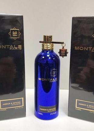 Montale amber & spices eau de parfum 100ml тестер