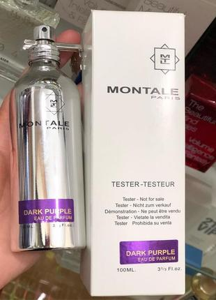 Montale dark purple eau de parfum 100ml тестер