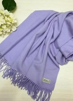 Нежнейшей кашемировый шарф  палантин brora scotland
