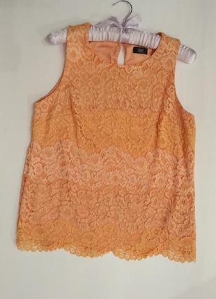 Блузка f&f размер 12/l/40