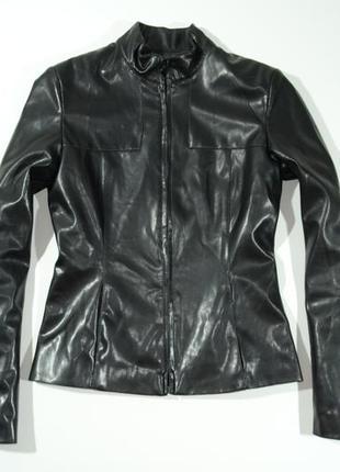 Женская куртка кожзам kookai