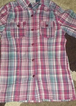 Легкая рубашка на кнопках